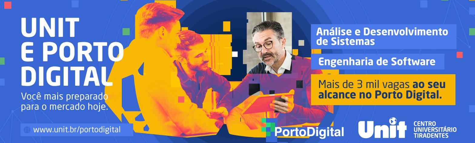 Unit e Porto Digital, você preparado para o mercado Hoje. Novo curso de Engenharia de Software